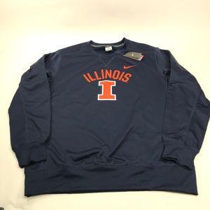 Nike Illinois Illini Circuit Sweatshirt XL AA00151